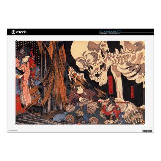 "Japanese Ukiyoe Art vol.1 Skin For 17"" Laptop"