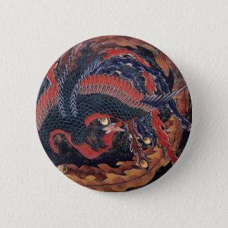 Japanese Ukiyoe Art vol.9, Katsushika Hokusai Pinback Button