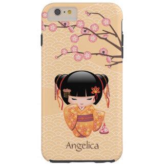 Japanese Ume Kokeshi Doll Tough iPhone 6 Plus Case
