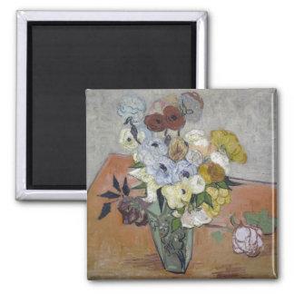 Japanese Vase - Vincent Van Gogh Magnet