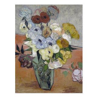 Japanese Vase - Vincent Van Gogh Postcard
