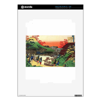Japanese Village Skin For iPad 2