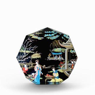 JAPANESE VINTAGE ART ACRYLIC AWARD