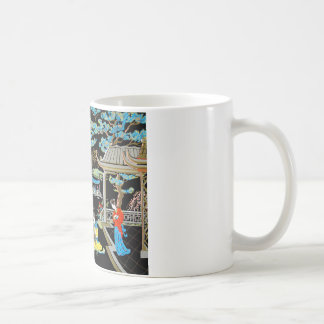 JAPANESE VINTAGE ART COFFEE MUG