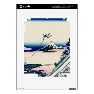 Japanese Vintage Art Fuji from Honganji Temple iPad 3 Skin