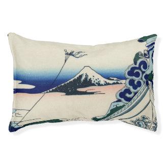 Japanese Vintage Art Fuji from Honganji Temple Pet Bed