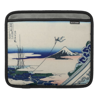 Japanese Vintage Art Fuji from Honganji Temple Sleeves For iPads