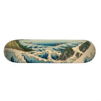 Japanese Vintage Art Sea of Satta Hiroshige Skateboard Deck