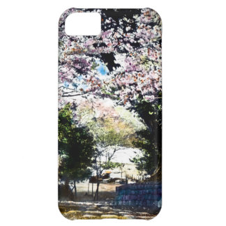 Japanese Vintage Cherry Blossoms Case For iPhone 5C
