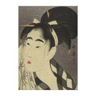Japanese Vintage Image  - pre 1900s  canvas Canvas Print