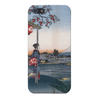 Japanese Vintage Mt Fuji Art Print Speck Case Cover For iPhone 5