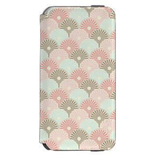 Japanese vintage pattern iPhone 6/6s wallet case