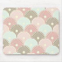 Japanese vintage pattern mouse pad