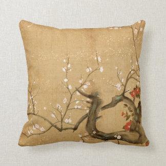 Japanese Vintage Throw Pillow