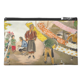 Japanese Vocations in Pictures, Dying Shop Travel Accessories Bags