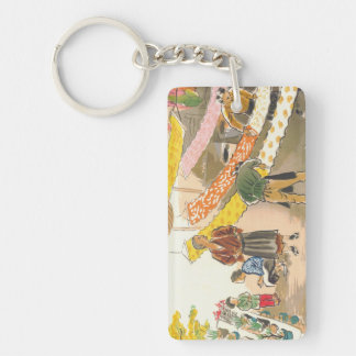 Japanese Vocations in Pictures, Dying Shop Keychain