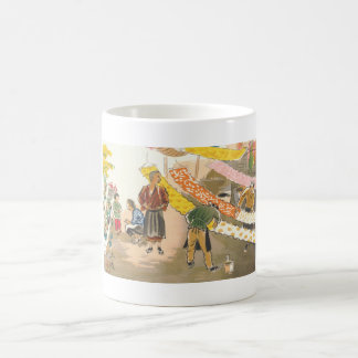 Japanese Vocations in Pictures, Dying Shop Classic White Coffee Mug