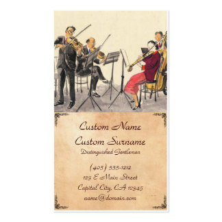 Japanese Vocations In Pictures, Players Of Music Business Card