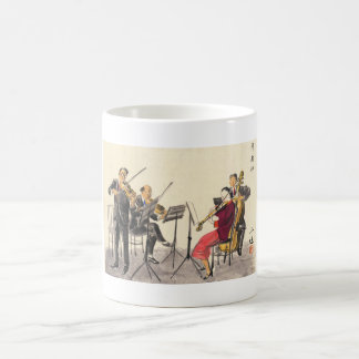 Japanese Vocations In Pictures, Players Of Music Classic White Coffee Mug