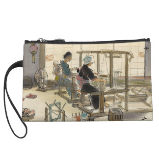 Japanese Vocations In Pictures, Women Weavers Wristlets