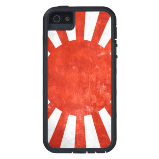Japanese War Flag on iPhone 5 Tough Case