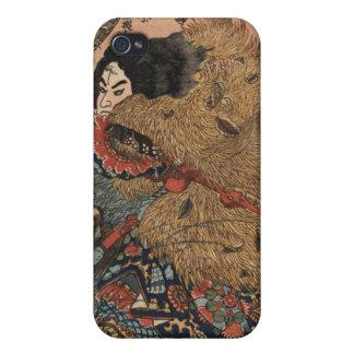 Japanese Warrior Art circa 1800s iPhone 4/4S Cover
