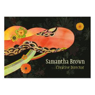 Japanese Washi Pattern: Designer Business Cards