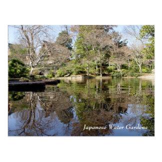Japanese Water Gardens, Fort Worth Texas Postcard