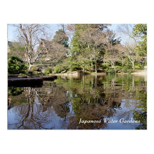 Japanese Water Gardens Fort Worth Texas Postcard Zazzle