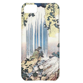 Japanese Waterfall Illustration Cover For iPhone 5C