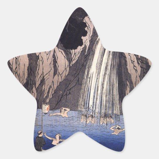 JAPANESE WATERFALL STICKER