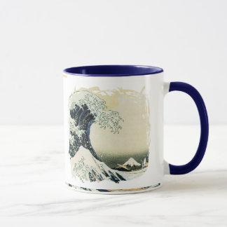 Japanese Wave Painting Design Mug