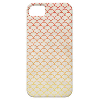 Japanese Wave Pattern on Vintage Paper iPhone 5 Covers