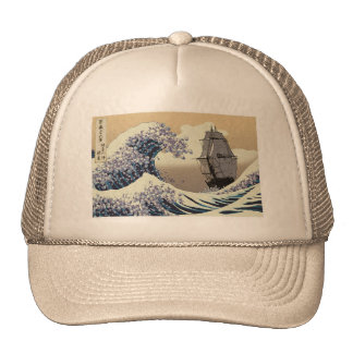 JAPANESE WAVES HATS