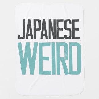 Japanese Weird is my kind of weird Receiving Blanket