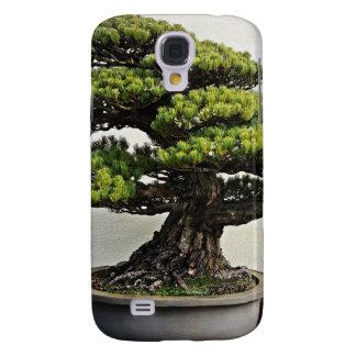 Japanese White Pine Bonsai Galaxy S4 Cases