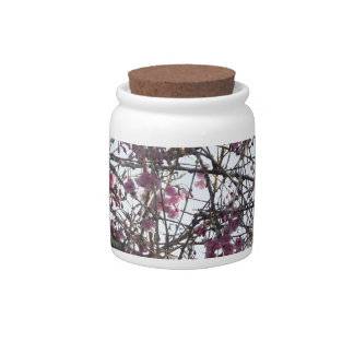 Japanese Willow Candy Jars