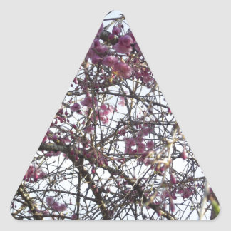 Japanese Willow Triangle Sticker