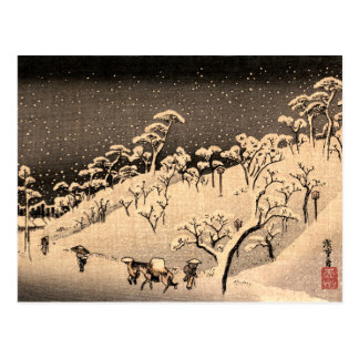 Japanese Winterscape no.1 Postcard