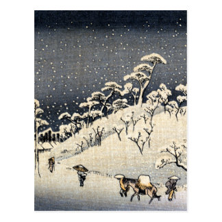 Japanese Winterscape no.2 Postcard