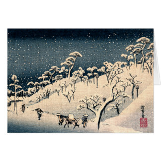 Japanese Winterscape no.3 Card