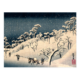 Japanese Winterscape no.3 Postcard