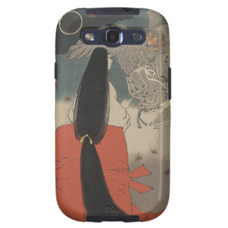 Japanese Woman and Wizard at Mount Manno Samsung Galaxy S3 Cover