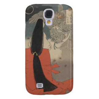 Japanese Woman and Wizard at Mount Manno Galaxy S4 Cover