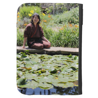 Japanese Woman Case For The Kindle