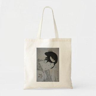 Japanese Woman Circa 1793-1794 Budget Tote Bag