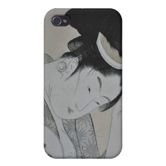 Japanese Woman iPhone 4/4S Cover