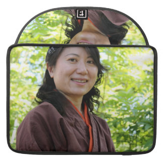Japanese Woman Sleeves For MacBook Pro