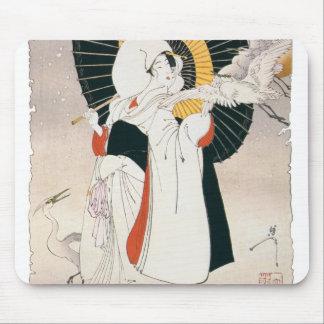 JAPANESE WOMAN MOUSEPAD
