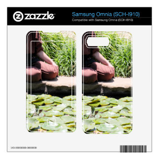Japanese Woman Decals For Samsung Omnia